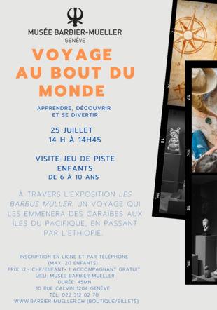 Flyer visite du 25/07/2020 musée Barbier Mueller