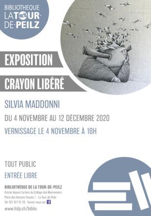 exposition silvia maddonni @bibliolatour