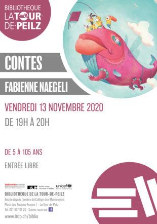 Nuit du conte avec Fabienne Naegeli @bibliolatour