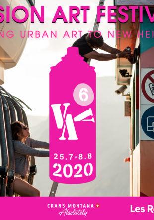 Poster Vision Art Festival 2020 Vision Art Festival
