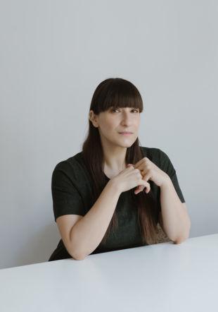 Portrait : Taus Makhacheva Natalia Pokrovskaya