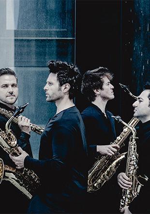 Signum saxophone quartet © Andrej Grilic