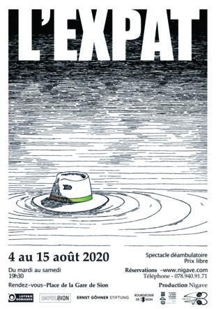 Affiche Gilles Praplan