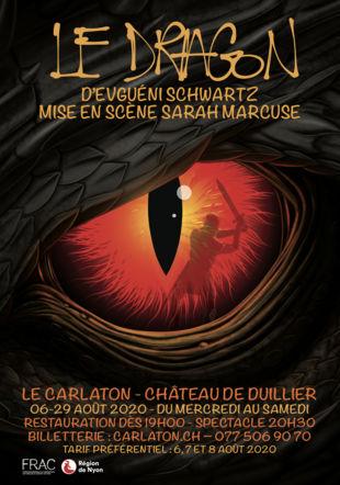 Affiche Le Dragon 2020 (C) Carlaton