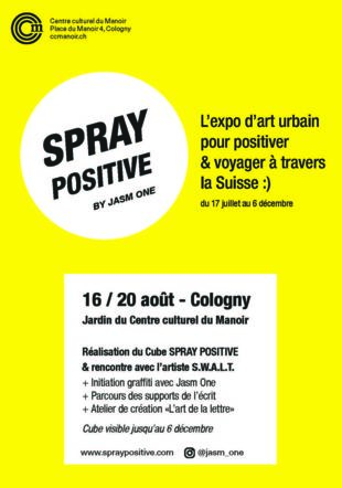 spray positive flyer @ccmanoir