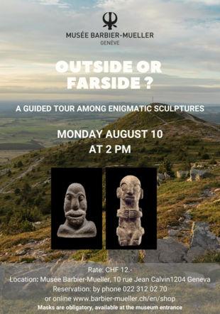 Flyer visite anglais 10 août musée Barbier-Mueller