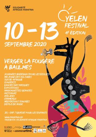 Affiche du Festival Solidarité Afrique Farafina