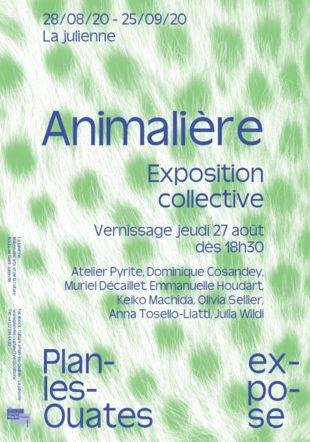 Affiche Animalière Commune de Plan-les-Ouates