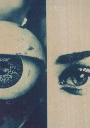Monique Jacot, Sans titre [série Portraits], 1995, Transfert polaroid sur papier Fabriano,  Cabinet cantonal des estampes, Collection de la Ville de Vevey, Musée Jenisch Vevey