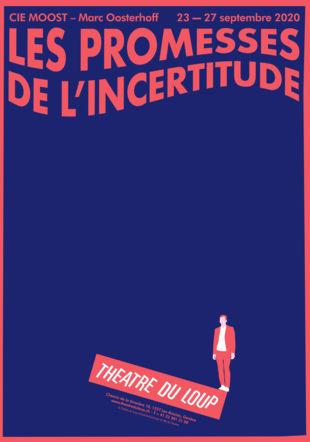 """Affiche """"Les Promesses de l'incertitude"""" © Sylvain Leguy"""