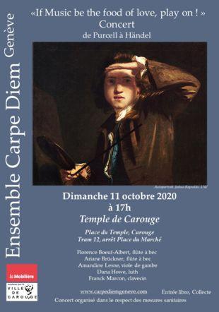 auto portrait Joshua Reynolds, Concert de musique anglaise