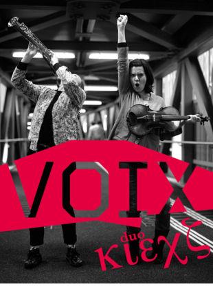 Duo Klexs_VOIX © Pablo Fernandez_Annick Burion
