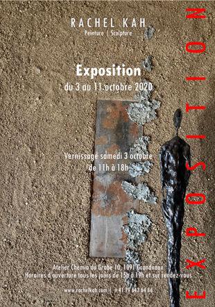 Affiche de l'exposition ©Rachel Kah