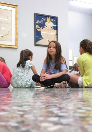 Atelier de médiation culturelle au Musée Jenisch Vevey