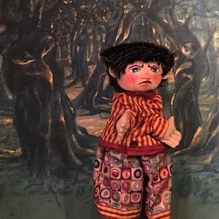 Tibougon perdu dans la Forêt Bleue