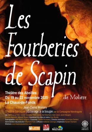 Les Fourberies de Scapin - Molière ©myriambd - Compagnie Mandragore