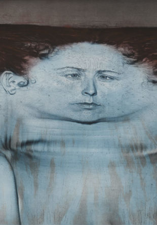 "Kiki Smith, ""My Blue Lake"", 1995. Courtesy Universal Limited Ar"