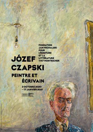 Józef Czapski   Peintre et écrivain Józef Czapski, Autoportrait à l'ampoule, 1958. Collection Popiel de Boisgelin © Succession Józef Czapski