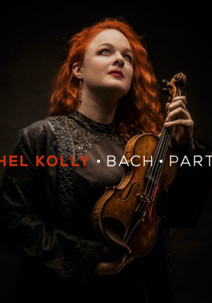 Couverture du nouvel album -  Bach Partitas - Rachel Kolly