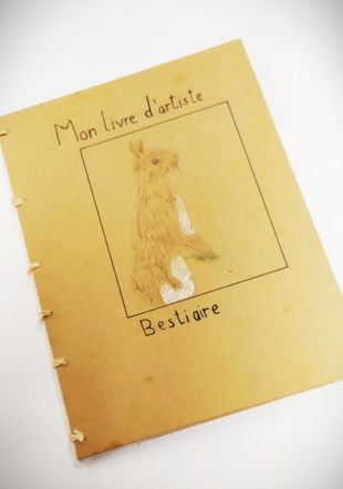 Livre d'artiste réalisés par les élèves de l'atelier Atelier Coquibus
