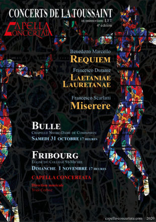 Concerts de la Toussaint 2020 Nicolas Ruffieux 2020