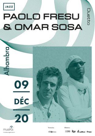 Paolo FResu Omar Sosa affiche musika