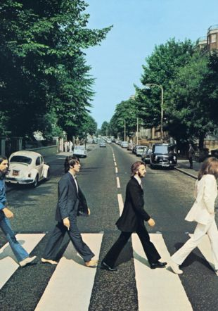 Iain MacMillan – The Beatles – « Abbey Road » – (Reproduction Bloomsbury Auctions)