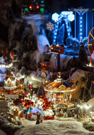 Un Noël suisse à la montagne chez Schilliger (Maquette)