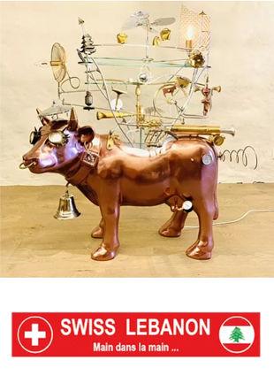 Vache originale - Pascal Bettex