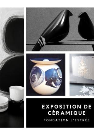 Exposition de Céramique Fondation l'Estrée