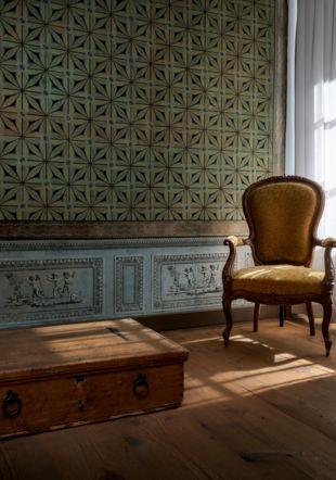Salon des Amours Musée papier peint