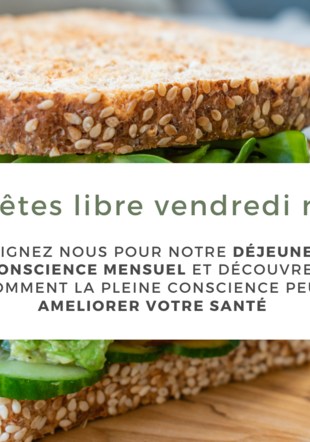 Les vendredi des lunch conscients Laurie Dicosola