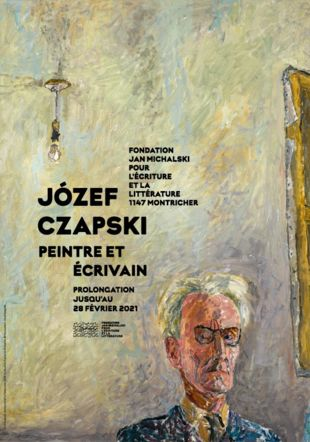 Józef Czapski | Peintre et écrivain Józef Czapski, Autoportrait à l'ampoule, 1958. Collection Popiel de Boisgelin © Succession Józef Czapski