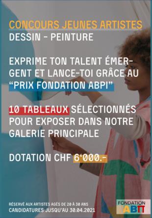 Concours jeunes artistes peintres Fondation ABPi