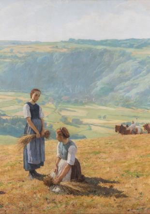 Les Glâneuses, oeuvre d'Eugène Burnand Thomas Masotti