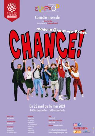 Chance ! compagnie evaprod - myriam BD