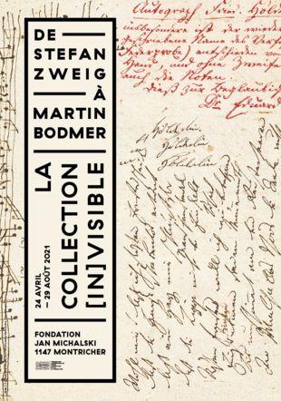 De Stefan Zweig à Martin Bodmer Johann C. F. Hölderlin, Burg Tübingen, [vers 1790] © Fondation Martin Bodmer / Naomi Wenger / Graphisme : Karen Ichters