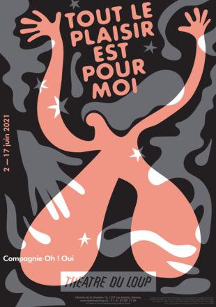 """Affiche """"Tout le plaisir est pour moi"""" © Sylvain Leguy"""