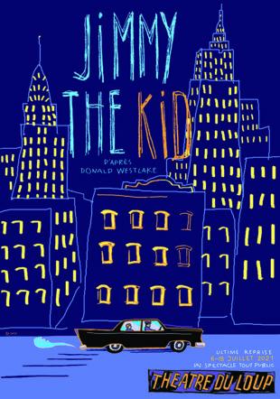 "Affiche ""Jimmy the Kid"" - juillet 2021 © Eric Jeanmonod"