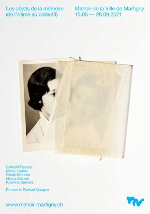 © by Image : Cécile Monnier, Modèle sous pergamine, photographie, 2020. Manoir de la Ville de Martigny