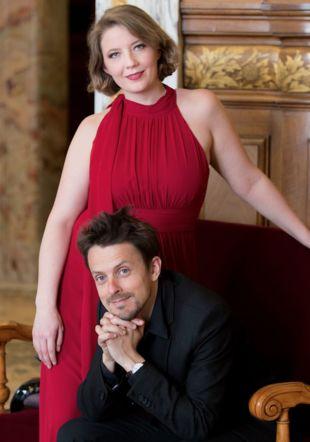 Marc Meisel et Saskia Salembier