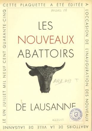 abattoirs Les Archives de la Ville de Lausanne, AVLBPS 17
