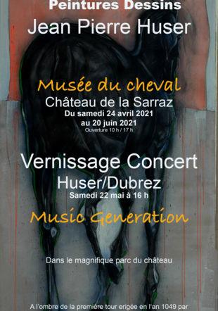 peinture de cheval Musée du Cheval