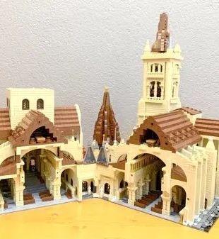 Maquette de la cathédrale de Lausanne en Lego par Patrick Graber