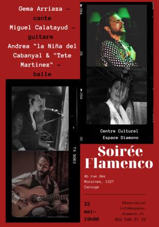 Soirée Flamenco à L'Espace Diamono Espace Diamono
