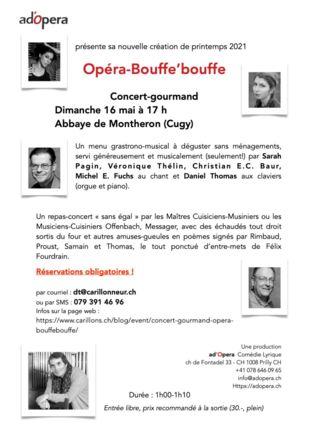 affiche opéra bouffe