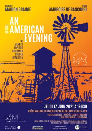 Récital An American Evening Sandy Tripet