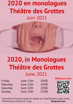 Poster 2020 in monologues