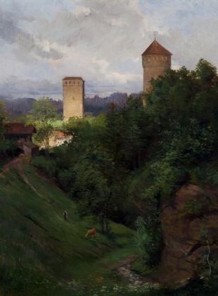 """""""Fribourg. Porte de Morat"""""""