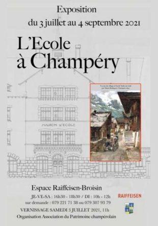 Ecole à Champery